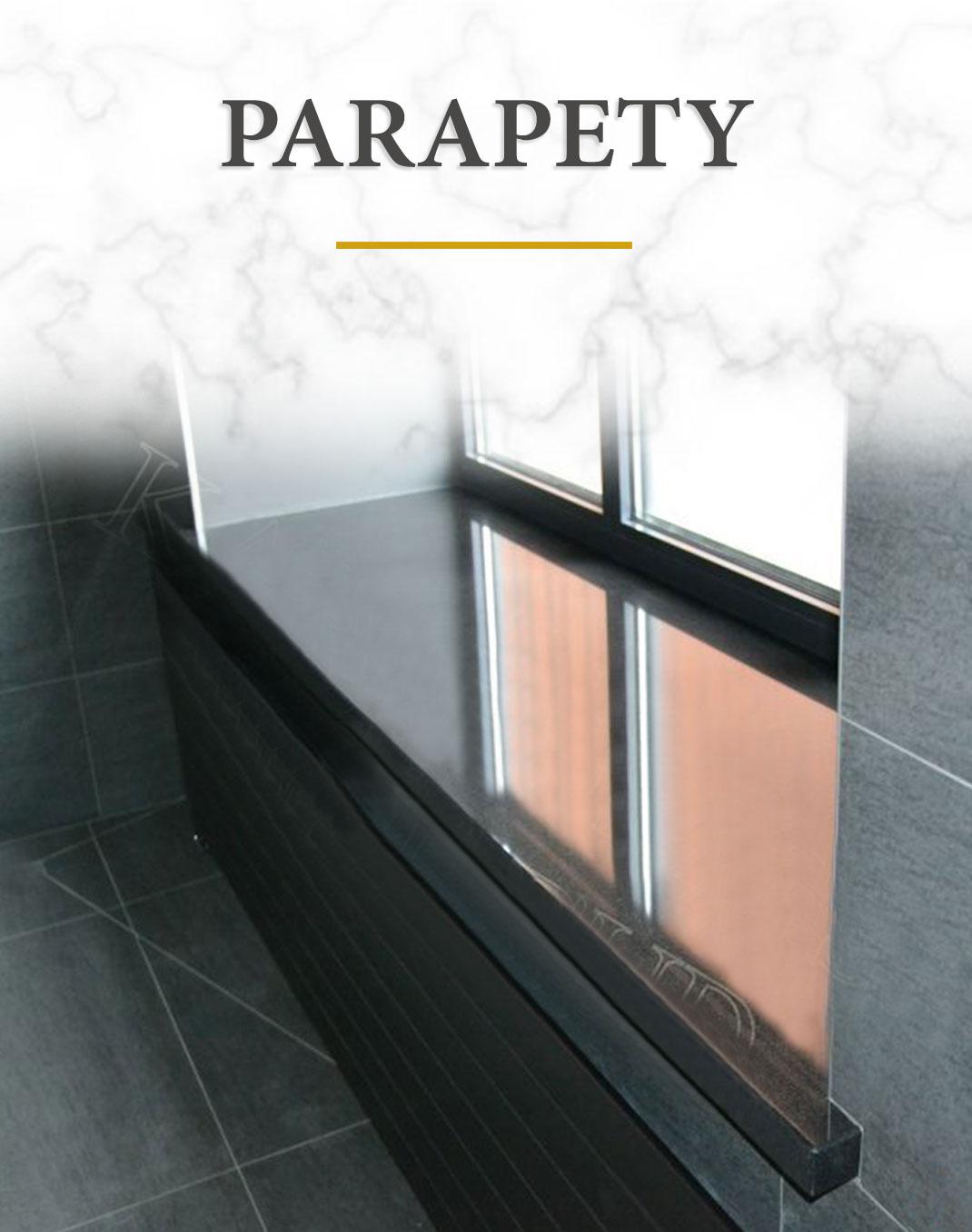 Kamieniarstwo Parapety